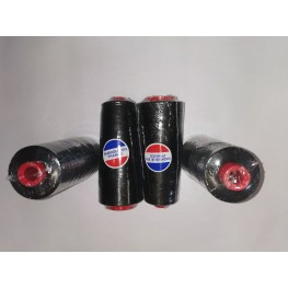 Cone fil noir polyester 125G