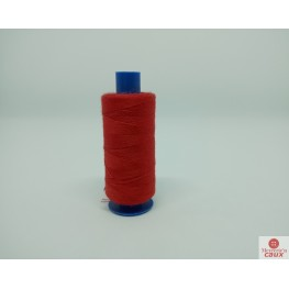 Fil polyester 500m rouge