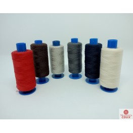 Fil gris clair polyester 500 yards